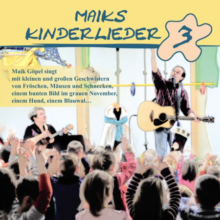 """Maiks Kinderlieder 3"" auf Amazon"